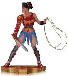 WONDER WOMAN STATUE BY CLIFF CHIANG