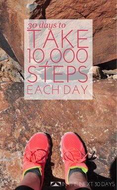 This is Day 1 of my #30Days to take 10,000 steps each day. Join me? | In The Next 30 Days