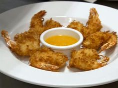 Robert Irvine's Coconut Shrimp with Mango Horseradish Recipe