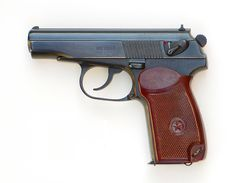 A Russian Makarov 9x18 pistol - I had one of these for a while and absolutely loved the way it shoots!