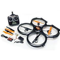 Drone Udi R/C U829X 4CH 6 Axis 2.4G RC Quadcopter LED Lighting / One Key To Auto-Return / Headless Mode / 360°RollingRC Quadcopter / #offroad #hobbies #design #racing #quadcopters #tech #rc #drone #multirotors
