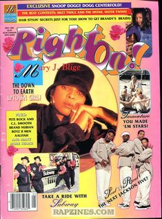 Right on magazine was an american teen magazine published from 1971 to Mode Poster, Poster Art, Gig Poster, Poster Layout, Photo Wall Collage, Picture Wall, Brandy Braids, Pete Rock, Magazin Covers