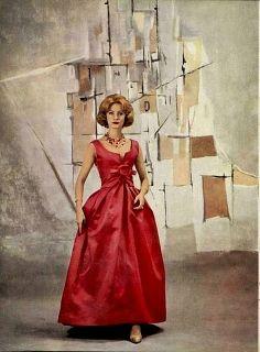 Christian Dior 1959 | inspiration for Celeste Mortinné's wardrobe @ the last canvas online novel
