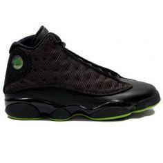 Air Jordan 13 Black And Green