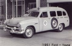 1951 Ford ambulance (Australian)