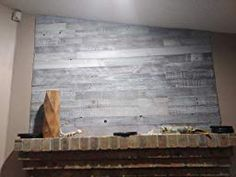 Plank and Mill Reclaimed Barn Wood Wall Panels - Simple Peel & Stick Natural Aged Planks - 1 Sq Ft Sample Pack of 5 & Wide: Whitewashed & Classic Barn Wood Reclaimed Barn Wood, Rustic Wood, Wood Planks, Wood Paneling, Wood Panel Walls, Cozy Fireplace, Raw Wood, Rustic Walls, Upholstered Furniture