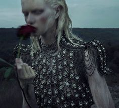 an accidental fall: alyona subbotina by an le for vogue italia