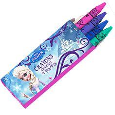 Frozen 4-Pack Crayons (8ct)