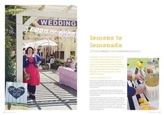 Handmade Redcliffe market {article from Tickle the Imagination magazine}