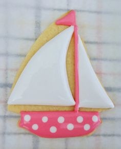 My Cookie Clinic: SAILBOAT COOKIES/ Sail On!