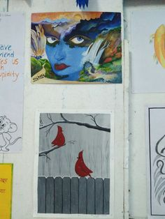 Poster Making, Making Ideas, Arts And Crafts, Creative, Painting, Painting Art, Paintings, Art And Craft, Painted Canvas
