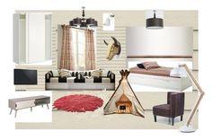 """комната 2"" by margarita-shoshina on Polyvore featuring interior, interiors, interior design, дом, home decor, interior decorating, Nodus и Alfa Lighting"