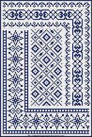 Beautiful cross-stitch patterns