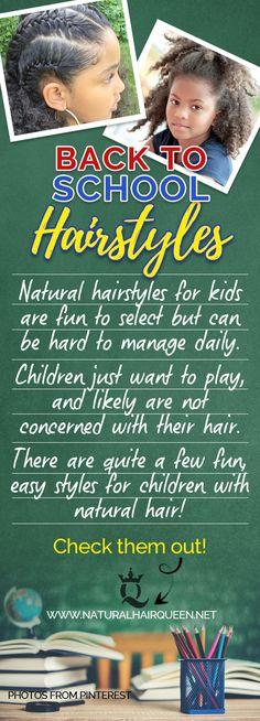 Back to School Hairstyles | Back to School Hairstyles Black | African American Hairstyles | Natural Hairstyles | Little Ones with Natural Hair | Natural Hair Girl | Hairstyle  #backtoschool #hairstyle #naturalhair