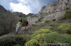 Go hiking and learn spanish in southern spain. www.lajanda.org