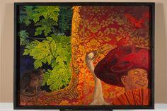 "Angel Rodriguez-Diaz - ""The Mariachi"" Oil on canvas"