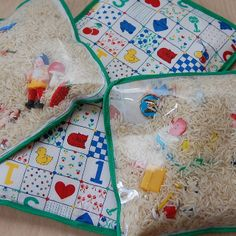 I Spy Bags by Naughty Secretary Club, via Flickr. Keeping toddler busy while you wait and wait and wait....for anything!