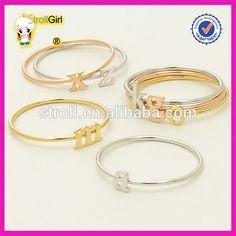 925 pure silver stackable ring a m h r p s u v z letter finger ring