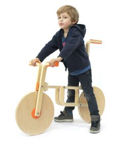 IKEA Hack | FROSTA stool becomes push bike - (instructions incl).