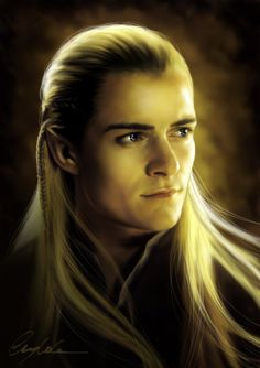 Fantastic Hobbit artwork: Legolas