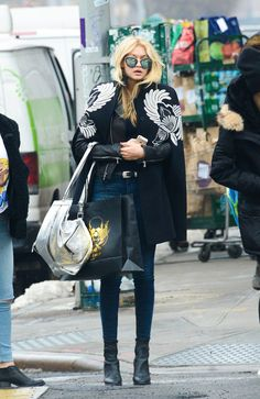 Pin for Later: 21 Winter Fashion Rules We Learned From Gigi Hadid Embrace Your Inner Superhero, and Rock a Cape