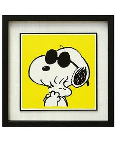 Snoopy Hugging Woodstock Picture Yellow Background