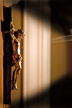 """The Crucifix is the first thing to enter your home and the last thing to leave."" - Virginia Heban"