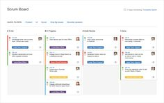 JIRA Software is equipped with the most important elements of agile software development - flexible scrum and kanban boards, real-time reporting and more.