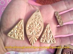 Chip Carving Jewelery Set!