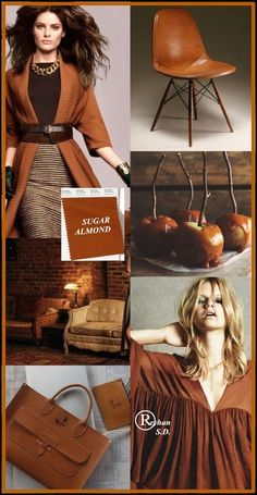 & Sugar Almond & Pantone - Herbst / Winter Color- von Reyhan S. Colourful Outfits, Colorful Fashion, Color Trends, Color Combinations, Pantone 2020, Use E Abuse, Mood Colors, Color Collage, Fashion Vocabulary