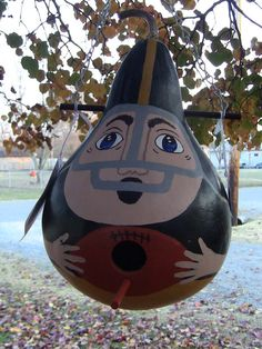 Pittsburg Steelers Football Player  Birdhouse by inmypaintedgarden, $26.95