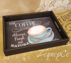 Decoupage Wood, Decoupage Tutorial, Paper Napkins For Decoupage, Paisley Art, Serving Tray Wood, Painted Trays, Diy Crafts To Sell, Painting On Wood, Wood Crafts