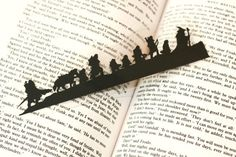 Lord of the Rings silhouette bookmark | The 33 Best Geeky Things To Buy On Etsy