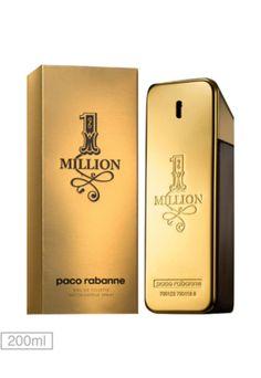 Perfume 1 Million Paco Rabanne Eau de Toilette Masculino 200 ml - Buscapé 82eda56b72