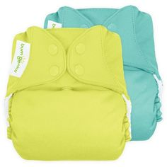 bumGenius Freetime All-In-One Snap Reusable Diaper (2 Pack) - Assorted Colors : Target