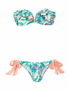 10 Flirty Bathing Suits for Every Body: The A-Cup Club. Boost your boobage with tropical ruffles!