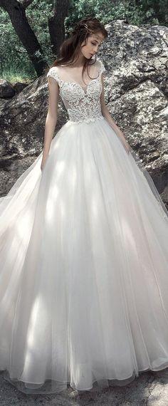 Featured Dress: Milva; Wedding dress idea.