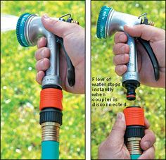 I use these on ALL our water hoses & mini-sprinkler systems! Quick & EZ to use or switch between!!!