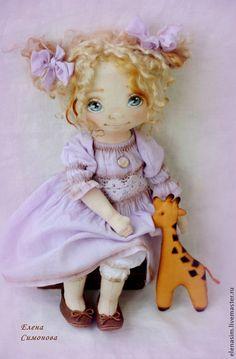 Коллекционные куклы ручной работы. Поля. Елена Симонова. Интернет-магазин Ярмарка Мастеров. Коллекционная кукла, текстильная кукла