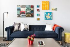 Bright and Cheerful Living Space