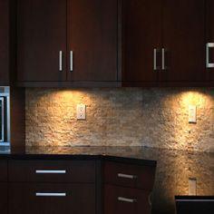 stone kitchen backsplash dark cabinets. Exellent Dark Stacked Stone Backsplash Design Ideas Pictures Remodel And Decor And Kitchen Dark Cabinets C