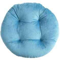 Plush Turquoise Papasan Stool Cushion | Pier 1 Imports