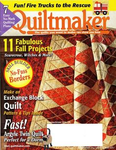 Quiltmaker 129 sept/oct 2009 christmas lights series part 2 of 3