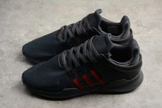 first rate cff1a 27c7c Buy adidas EQT Support ADV Black Scarlet Collegiate Green BB6777 Shoes-2
