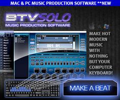 Want to make your own beats? Become your own producer with BTV Solo.  It's easy and 15% off right now!