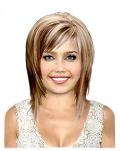 red and blonde highlights - Google Search