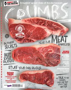 Hot off the press – our Cotswolds meat manifesto #carnivoresunite crumbsmag.com