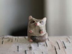 Mouse Lemur Pocket totem by HandyMaiden on Etsy