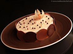 Tarte à la rhubarbe et crème chiboust vanillée - Meilleur du Chef...a so much for the humble rhubarb...:D