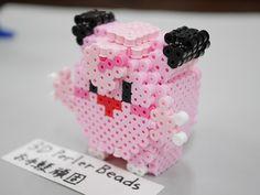 3D perlerbeads アイロンビーズ pokemon ポケモン(大)  ピッピ: 3DPerlerBeadsお手軽頑固な立体アイロンビーズ Charmander, Perler Beads, Nifty, Diy And Crafts, Pokemon, Creations, Projects, Manualidades, Hama Beads